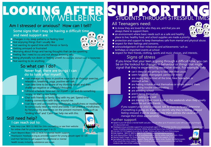 Wellbeing Posters